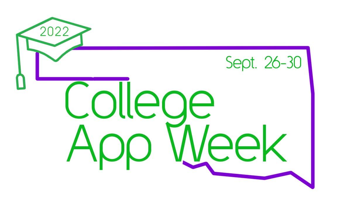 College App Week logo, 2018 September 17 through 21